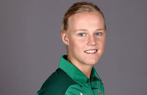 Former South African cricketer Elriesa Theunissen-Fourie has been killed in a car accident at the age of 25 ©ICC