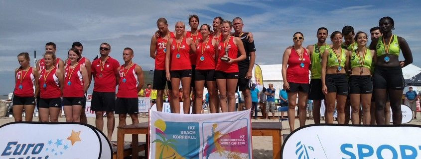 Reigning champions Belgium are among eight teams set to compete at the Beach Korfball World Cup (Europe) this July ©IKF