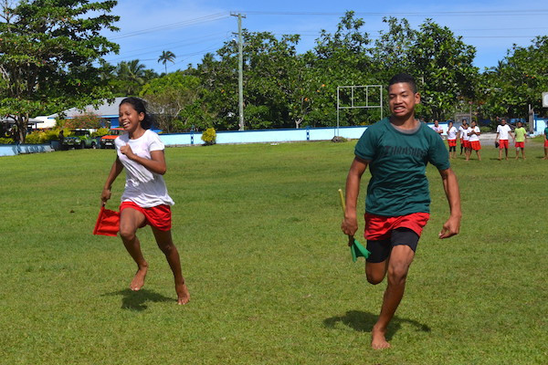 Primary school gets involved in Samoa 2019 preparations as part of Government programme
