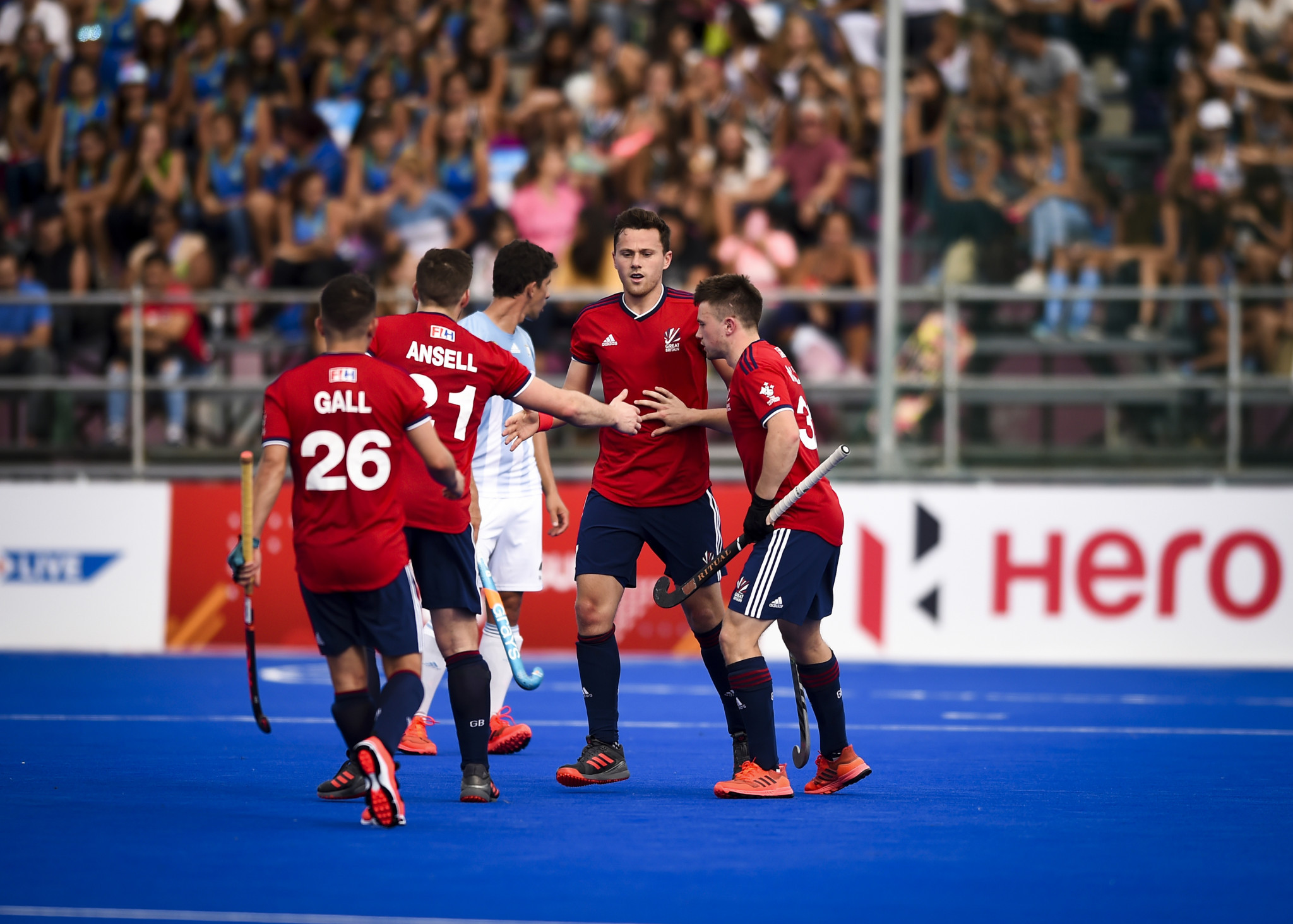 Both Olympic champions lose as Argentina host Great Britain in FIH Pro League