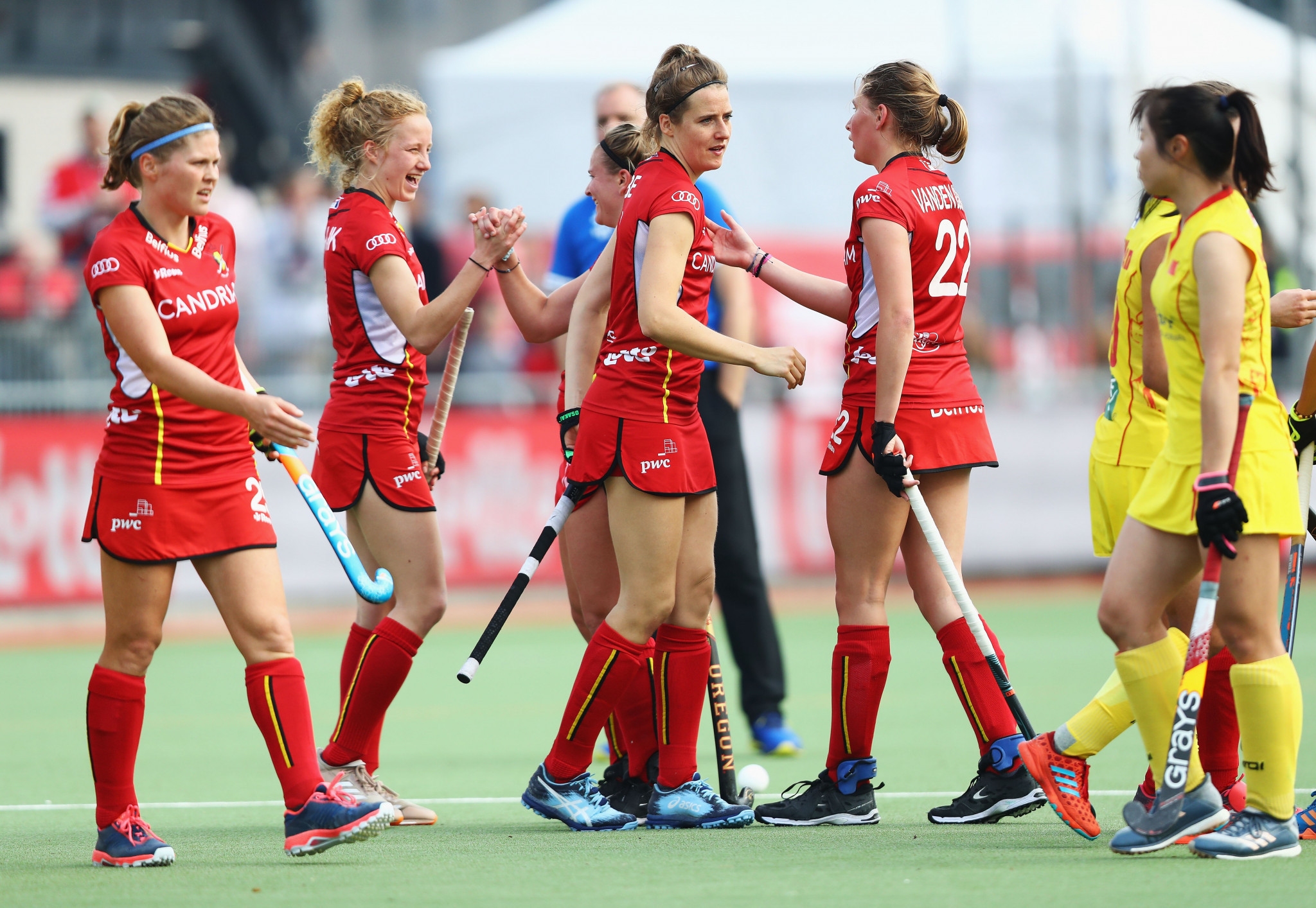 Belgium, ranked 13th in the world, beat China today 4-1 in the FIH Pro League ©Getty Images