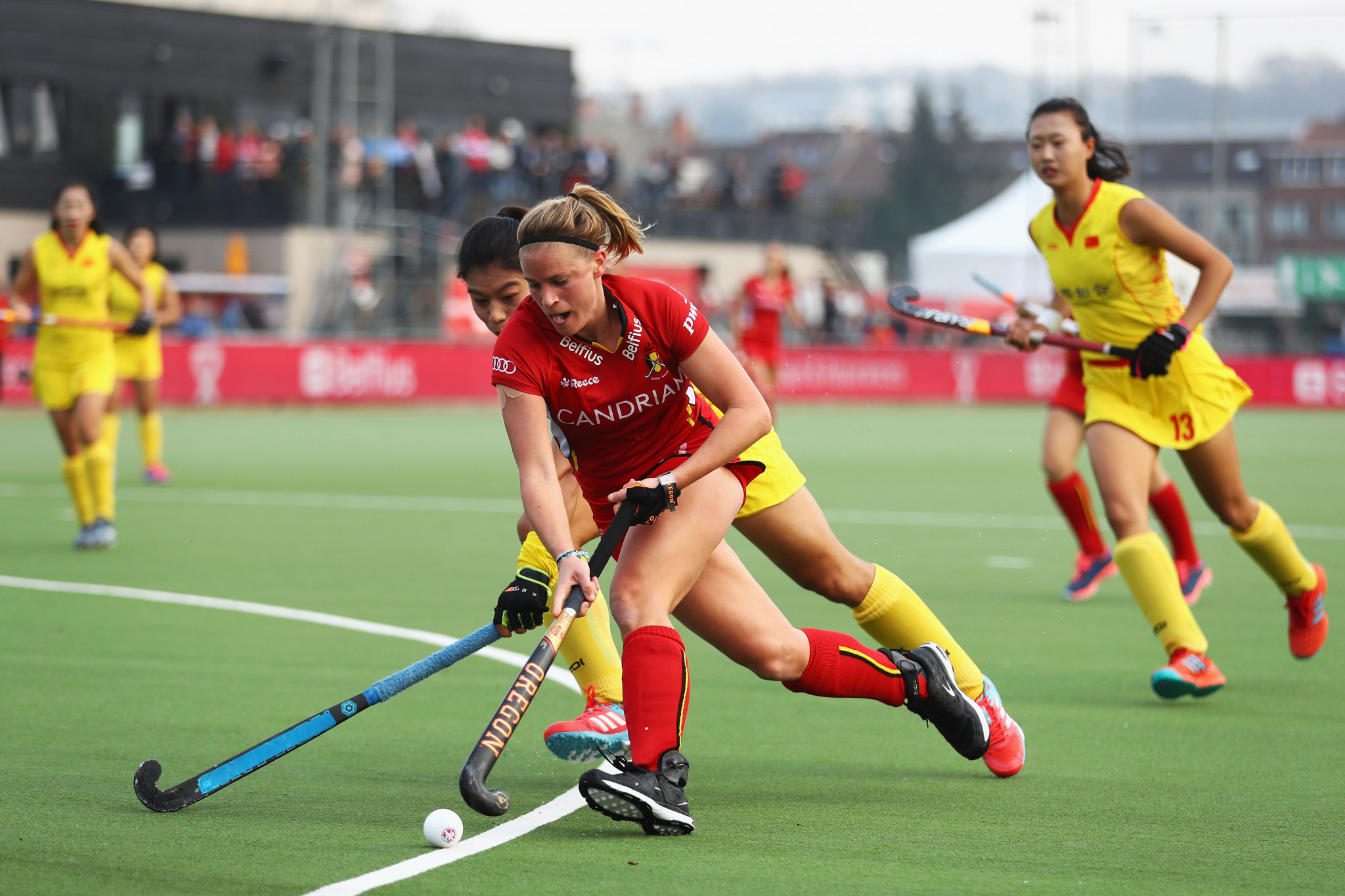 A hat-trick from Alix Gerniers helped Belgium to a comfortable win ©Getty Images