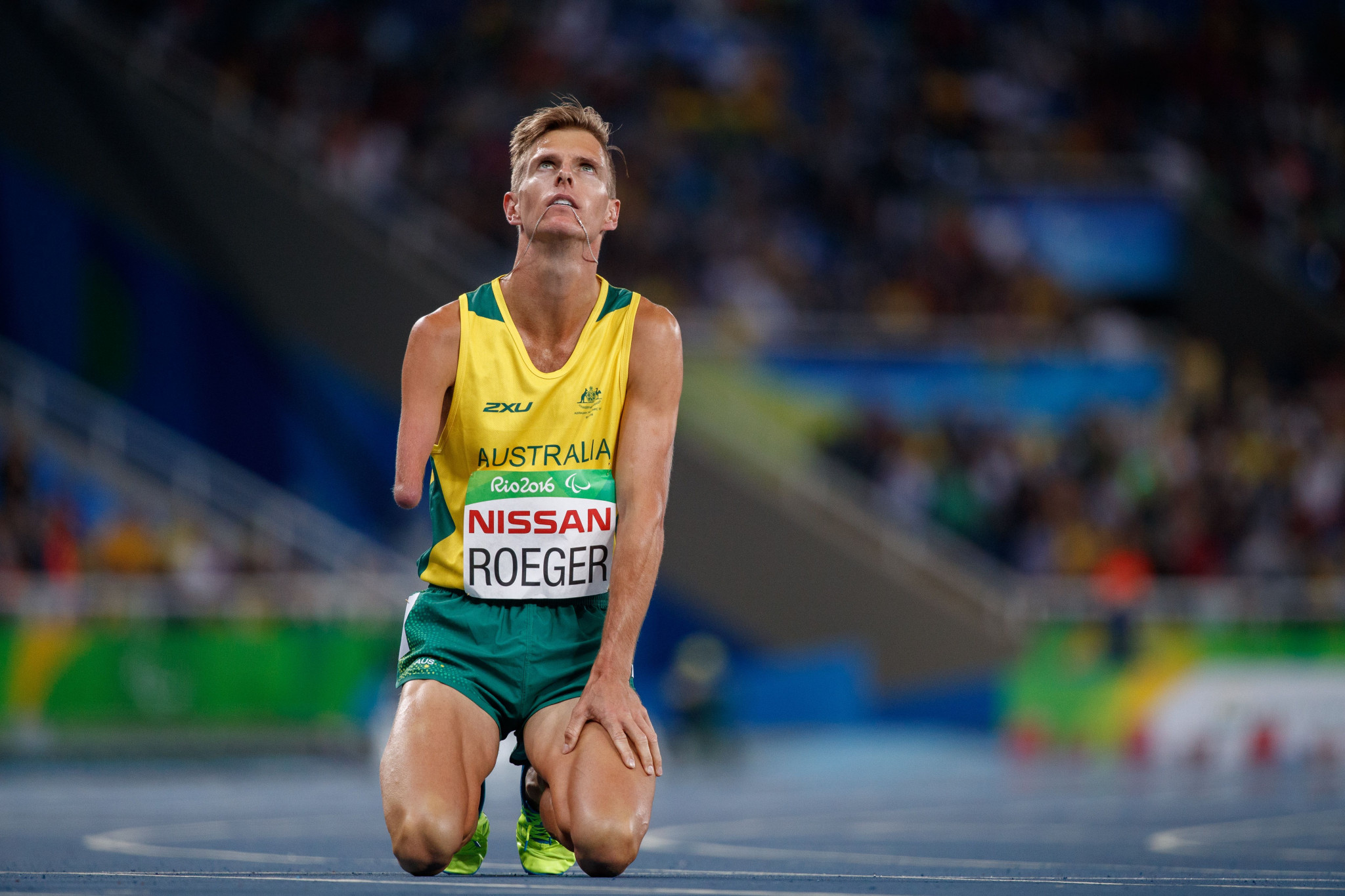 Middle-distance runner Roeger aiming for gold at World Para Marathon Championships