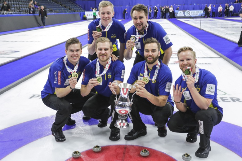 Sweden beat hosts Canada to defend Men's World Curling Championships title