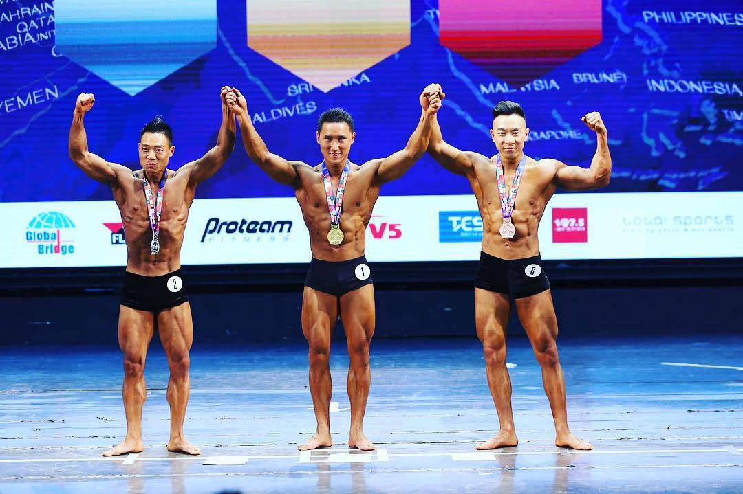 Fitness and bodybuilding is hugely popular in Asia ©Asian Federation of Bodybuilding & Fitness/Facebook