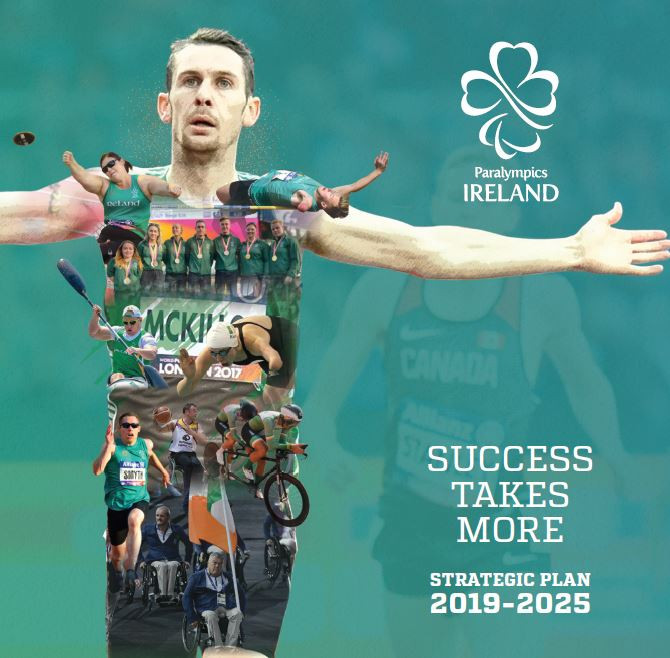 Paralympics Ireland strategic plan launched