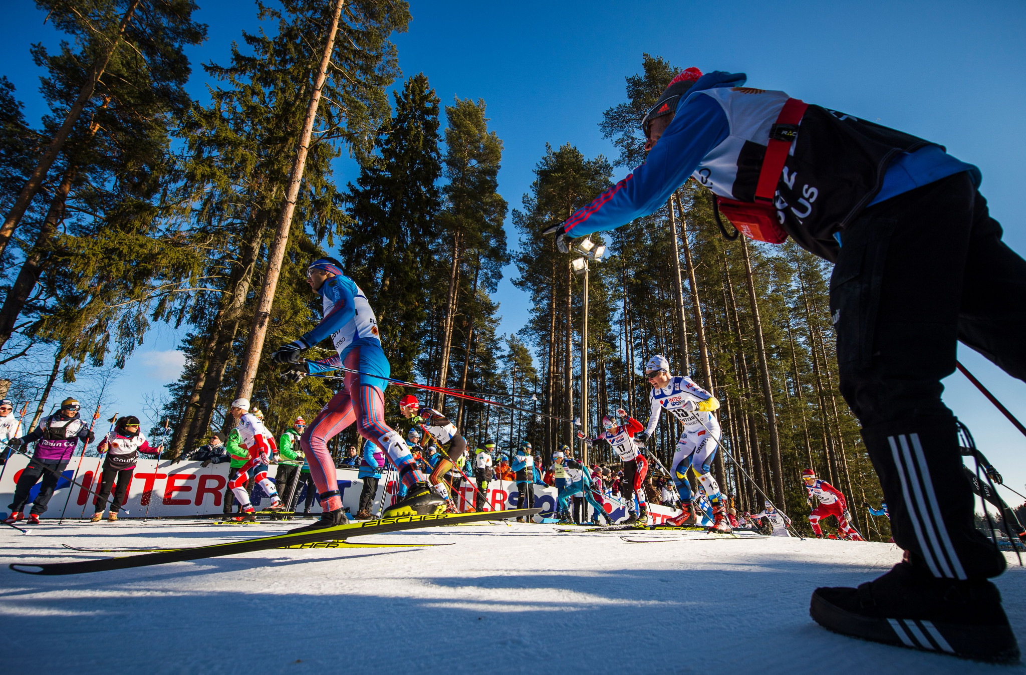Lahti hosted the Nordic Ski World Championships in 2017 ©Getty Images