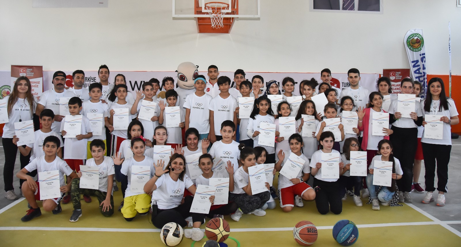 Turkish Olympic Committee marks International Day of Sport for Development and Peace with opening of new sports school for Syrian refugees