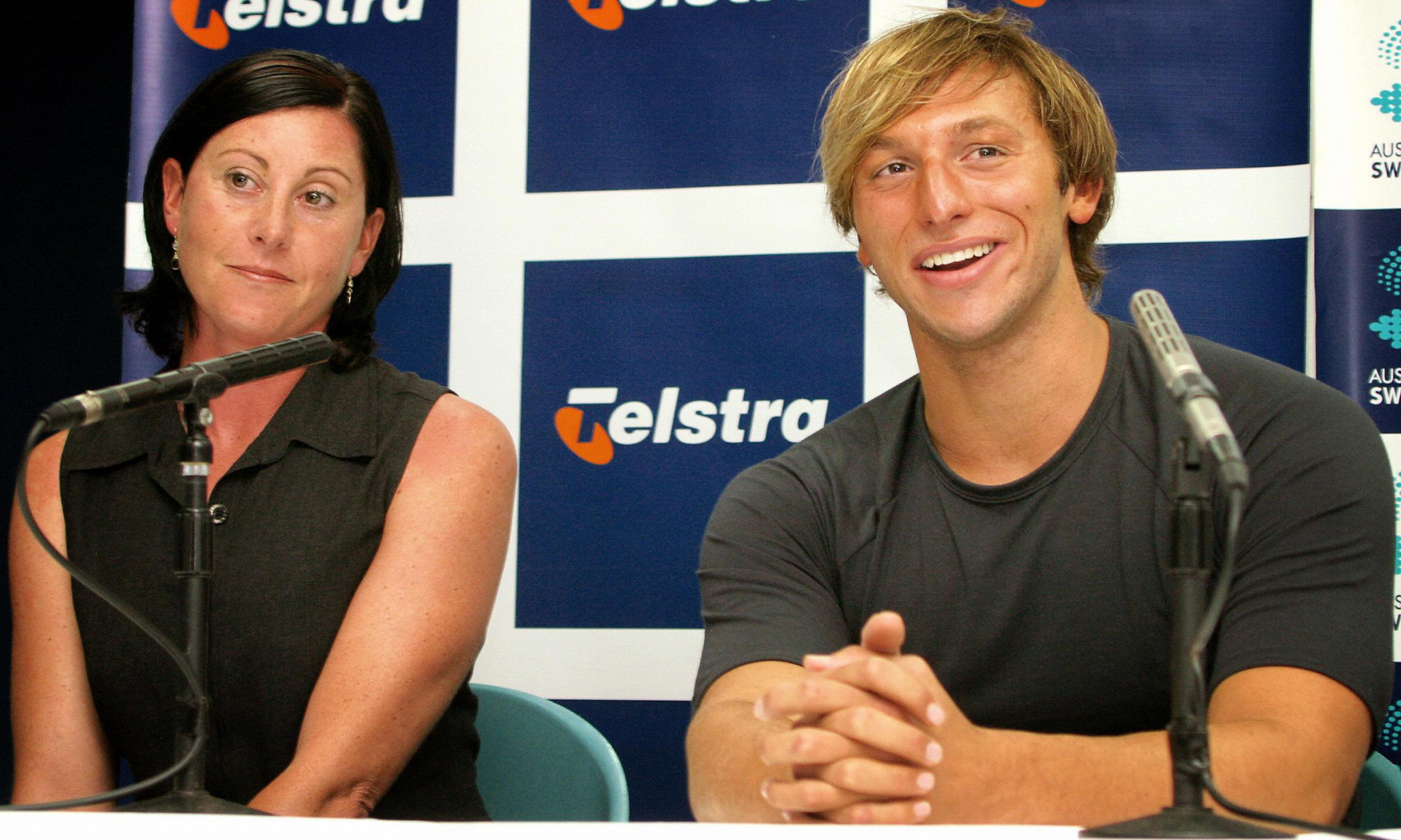 Tracey Menzies coached Ian Thorpe to Olympic gold medals in the 200m and 400m freestyle at Athens 2004 ©Getty Images