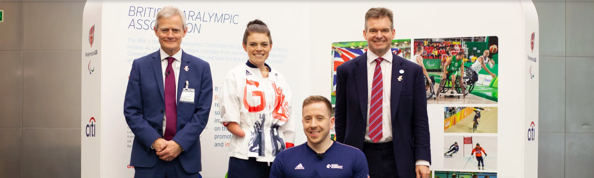 The British Paralympic Association has signed a new partnership with global bank Citi ©BPA