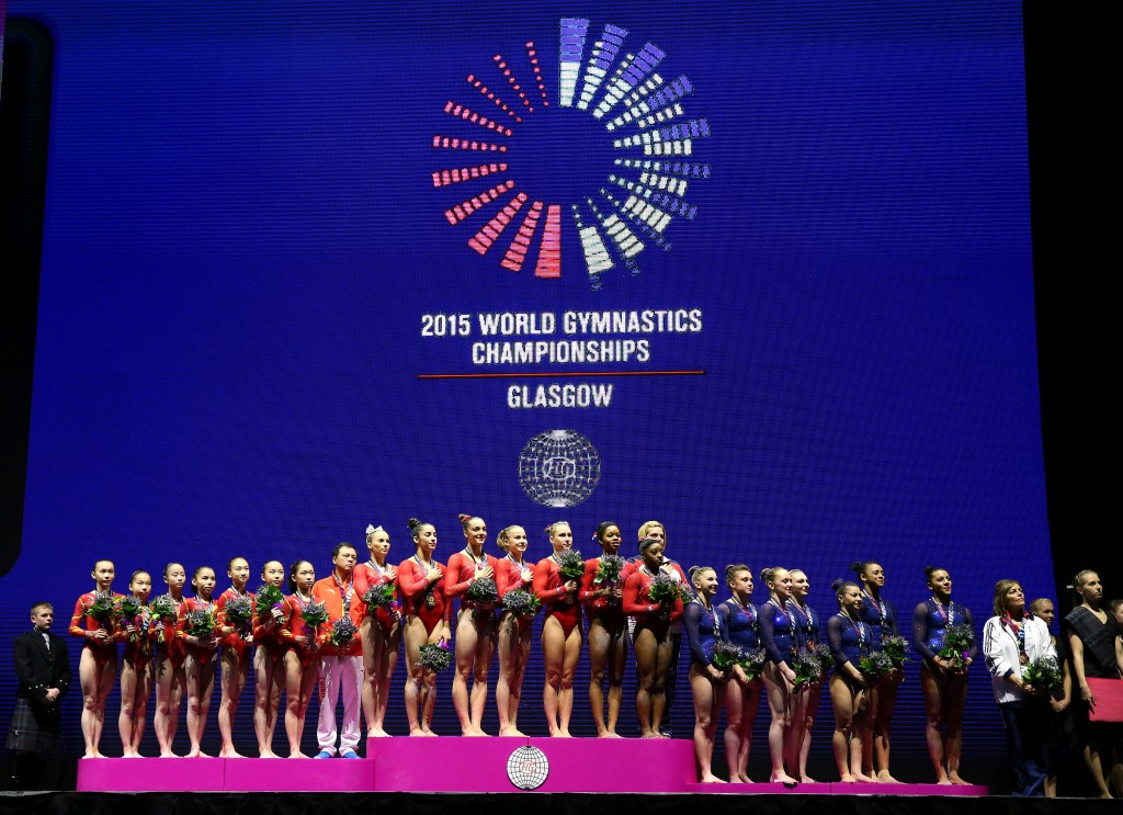 In pictures: 2015 Artistic Gymnastics World Championships day five of competition