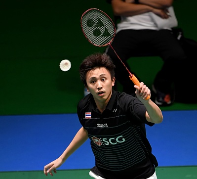 Saensomboonsuk secures main draw berth at BWF Singapore Open