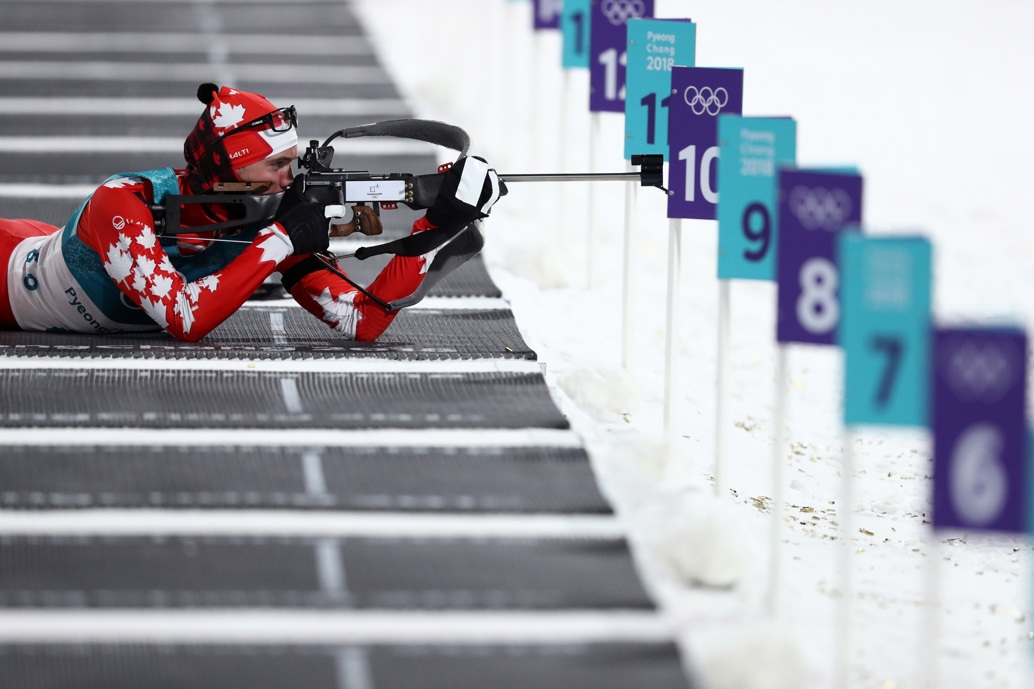 Biathlon Canada promised they will seek to build on Matthias Ahrens' legacy at upcoming Winter Olympic Games ©Getty Images