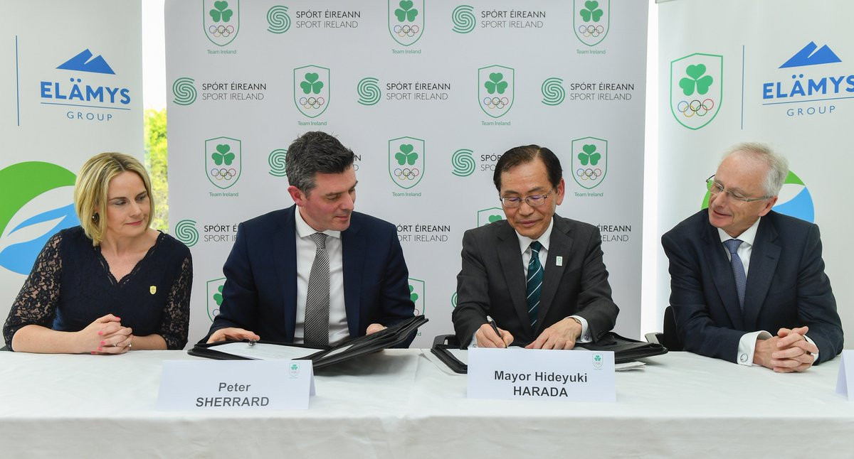 Ireland sign Tokyo 2020 training camp agreement and announce new authorised ticket reseller