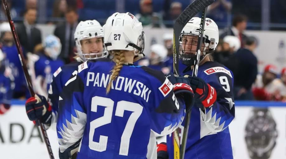 Holders United States hammer Russia to seal perfect Group A record at IIHF Women's World Championship