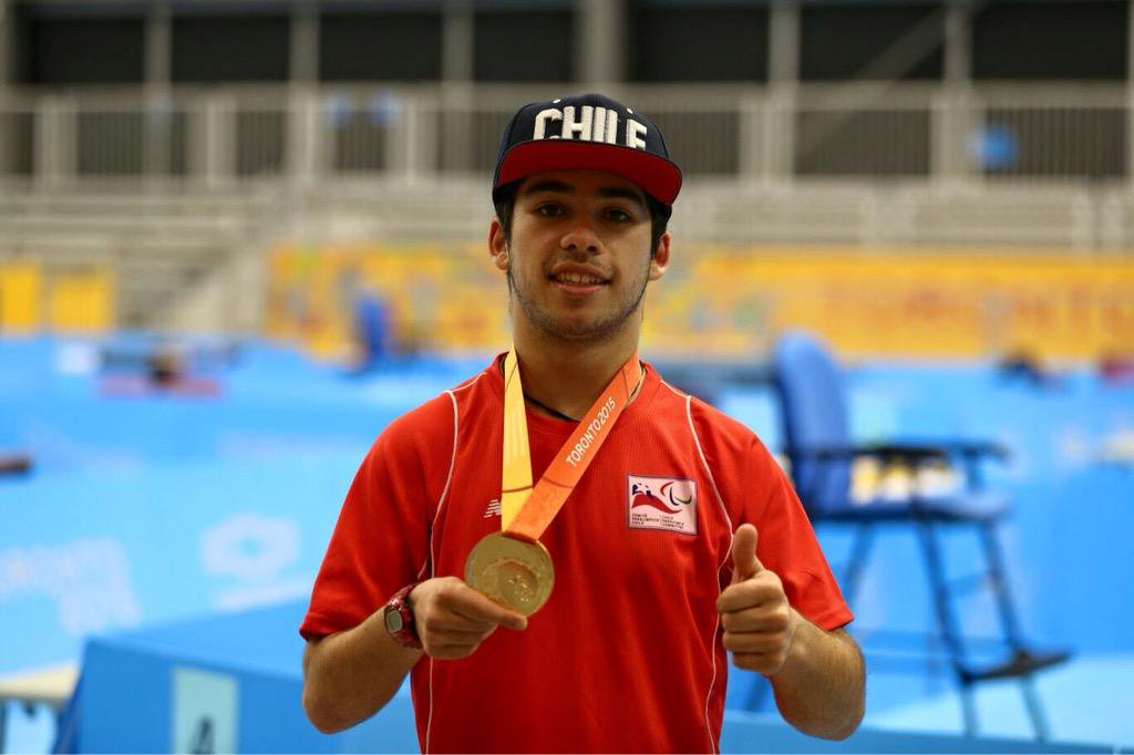 Chilean table tennis player named winner of Americas Paralympic Committee award for March