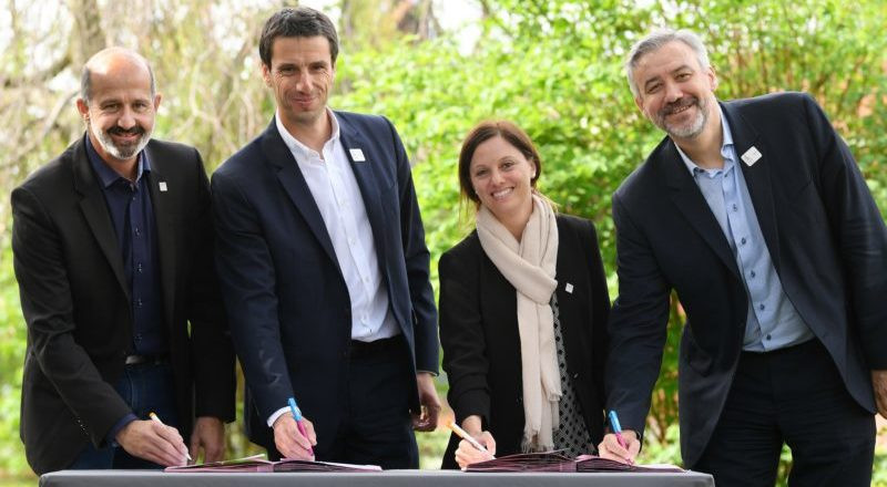 Lausanne 2020 and Paris 2024 sign collaboration agreement
