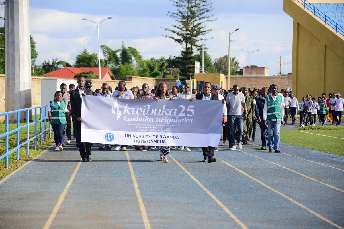 The inaugural ANOCA Youth Games in Rwanda ended with competitors marking the 25th anniversary of the genocide against the Tutsi people ©Twitter