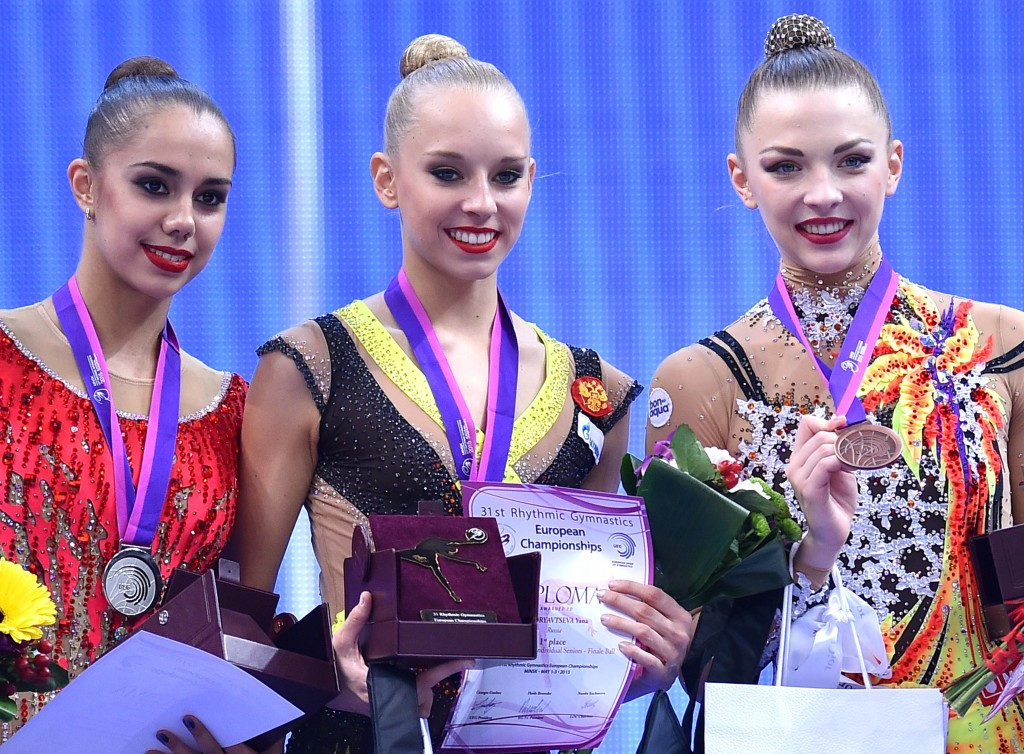 Russia secure clean sweep of individual titles on final day of Rhythmic Gymnastics European Championships