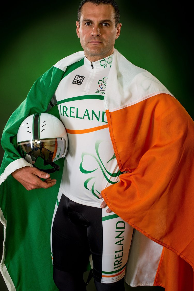 Collin Lynch had hoped to carry on competing until Tokyo 2020 has decided to announce his immediate retirement ©Paralympics Ireland