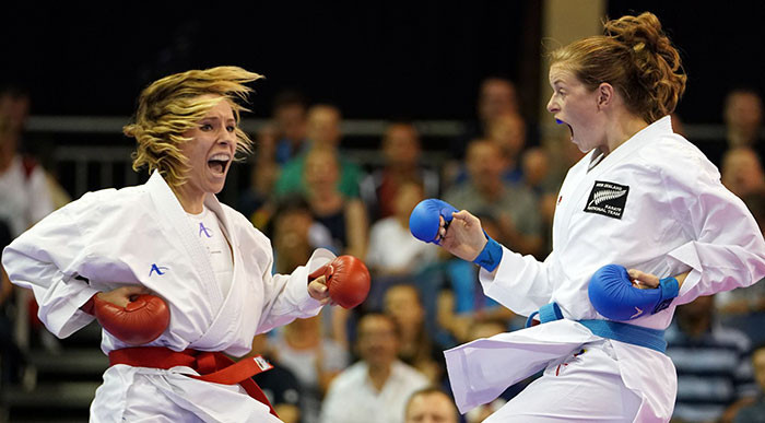 Action in Sydney will be held across a single day ©WKF