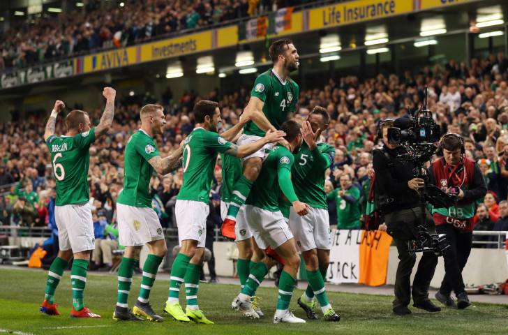 While Ireland's football team has been bonding during Euro 2020 there has been dissension and controversy within the FAI board ©Getty Images