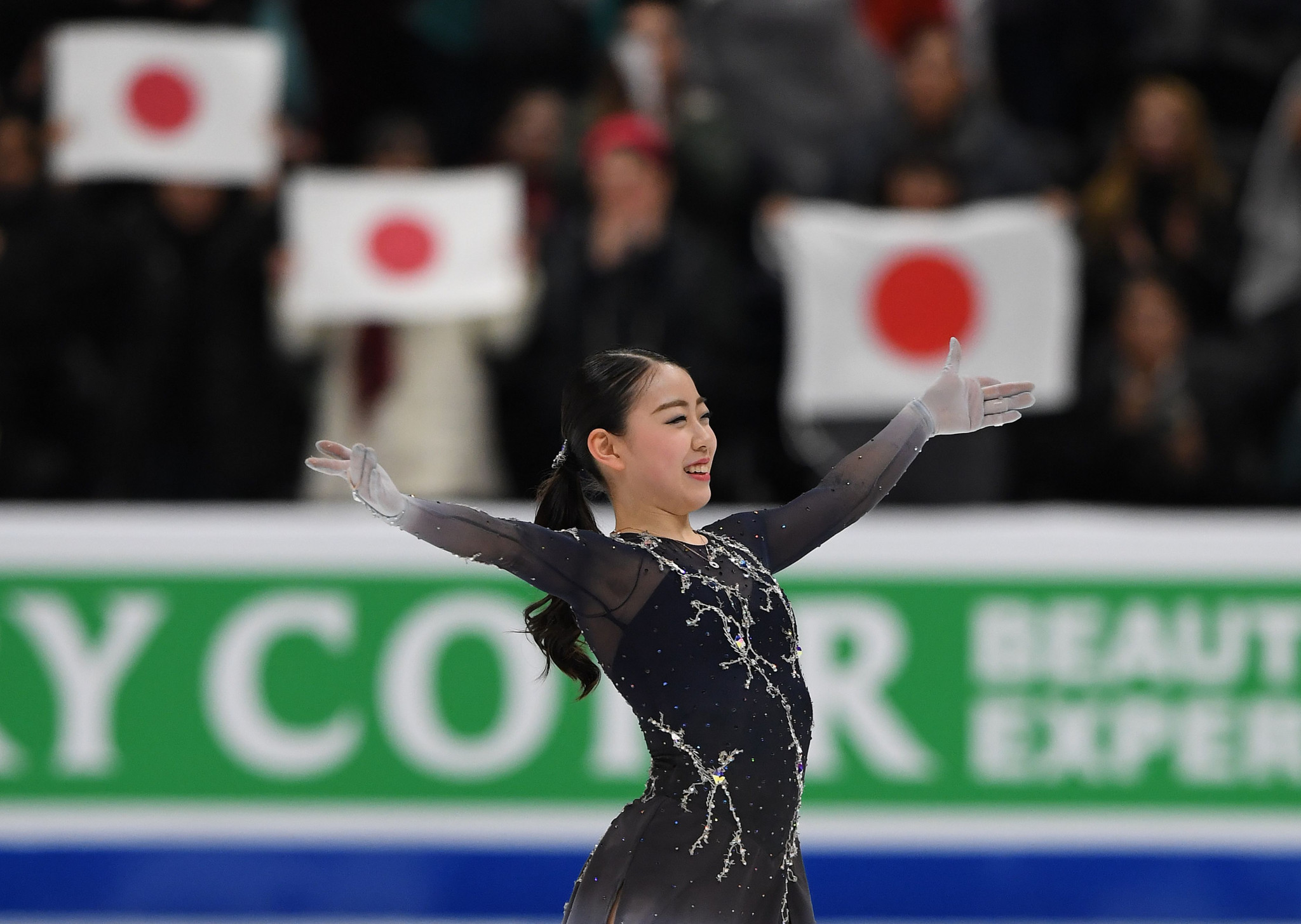 Japan are defending champions at the ISU World Team Trophy ©Getty Images