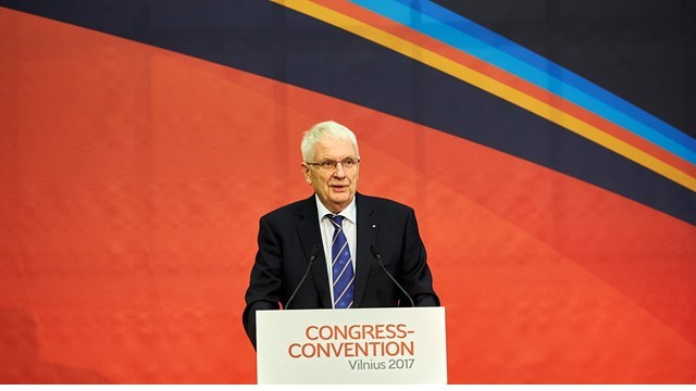 Hansen set to be re-elected European Athletics President at Congress in Prague