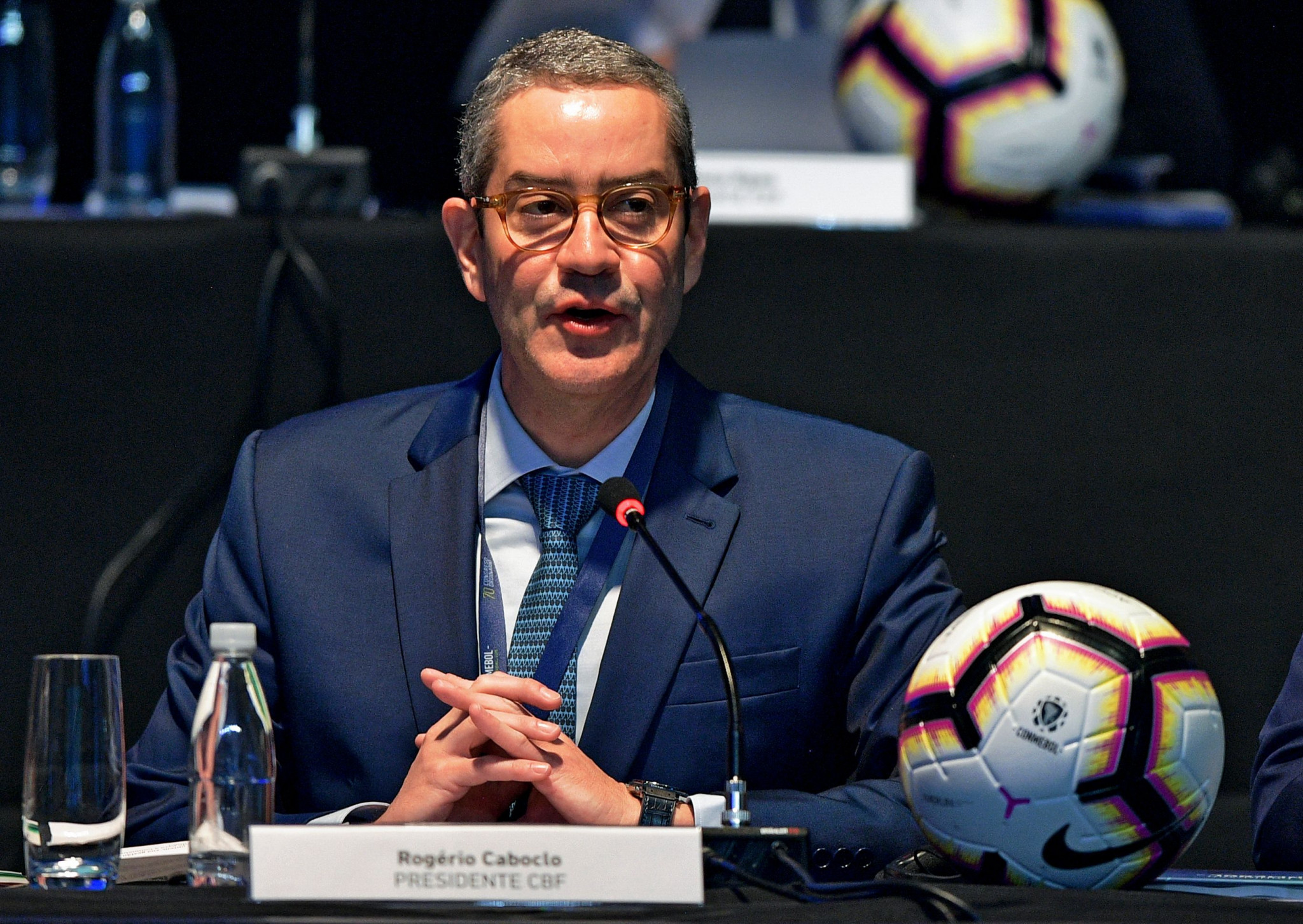 Caboclo vows to clean up Brazilian Football Confederation's act during inauguration as President