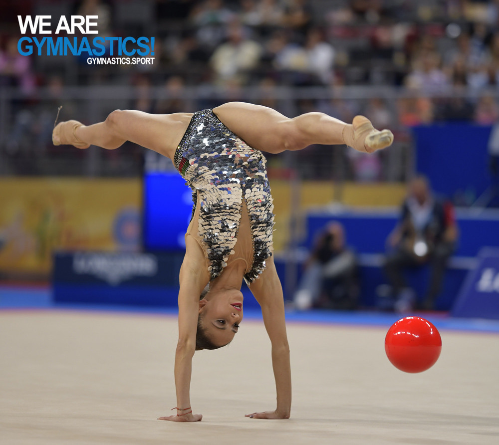 Vladinova targeting more home success as Rhythmic Gymnastics World Cup series reaches Sofia