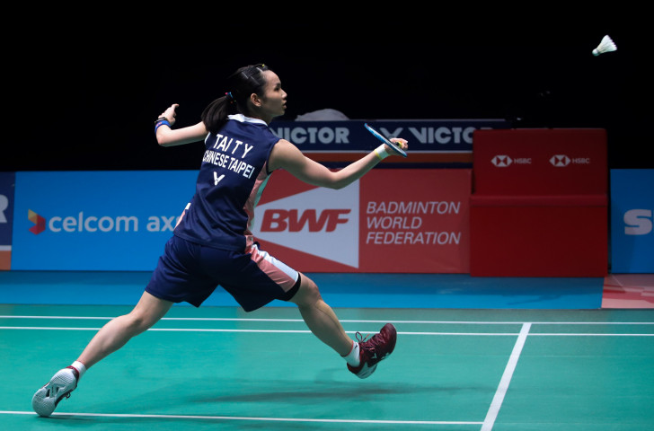 Chinese Taipei's world number one and top seed Tai Tzu-ying reached the quarter-finals of the BWF Singapore Open today ©Getty Images