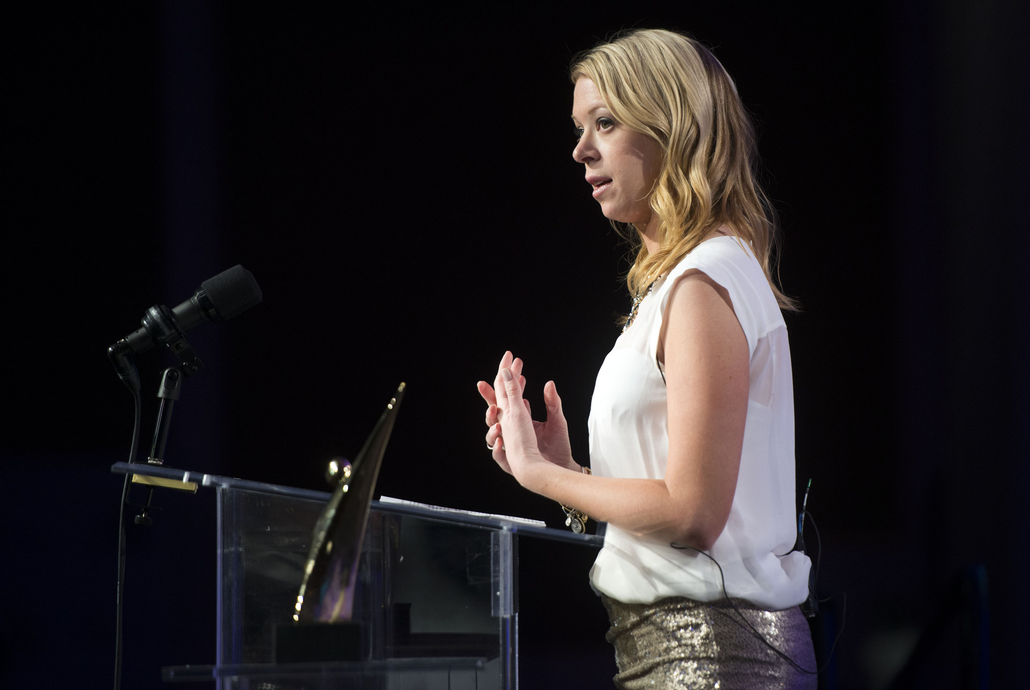 Adrianne Haslet, who lost a leg in the Boston Marathon bombings in 2013, is expected to be involved in planning the new Para athletics division ©Getty Images