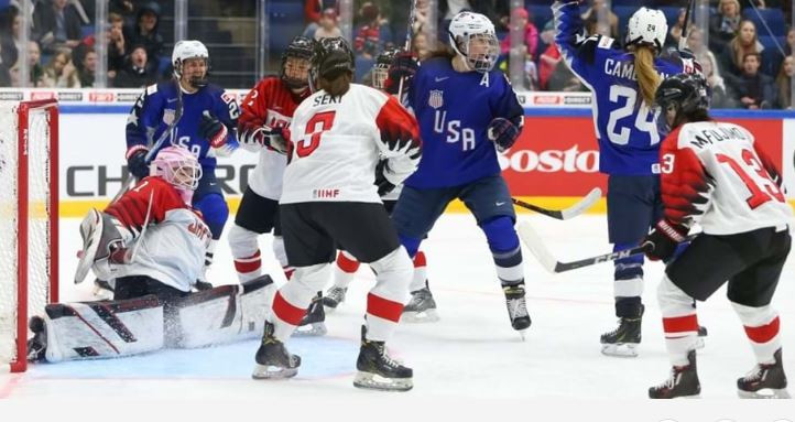 United States closing on fifth consecutive IIHF women's world title as Finland reach semi-finals in Espoo