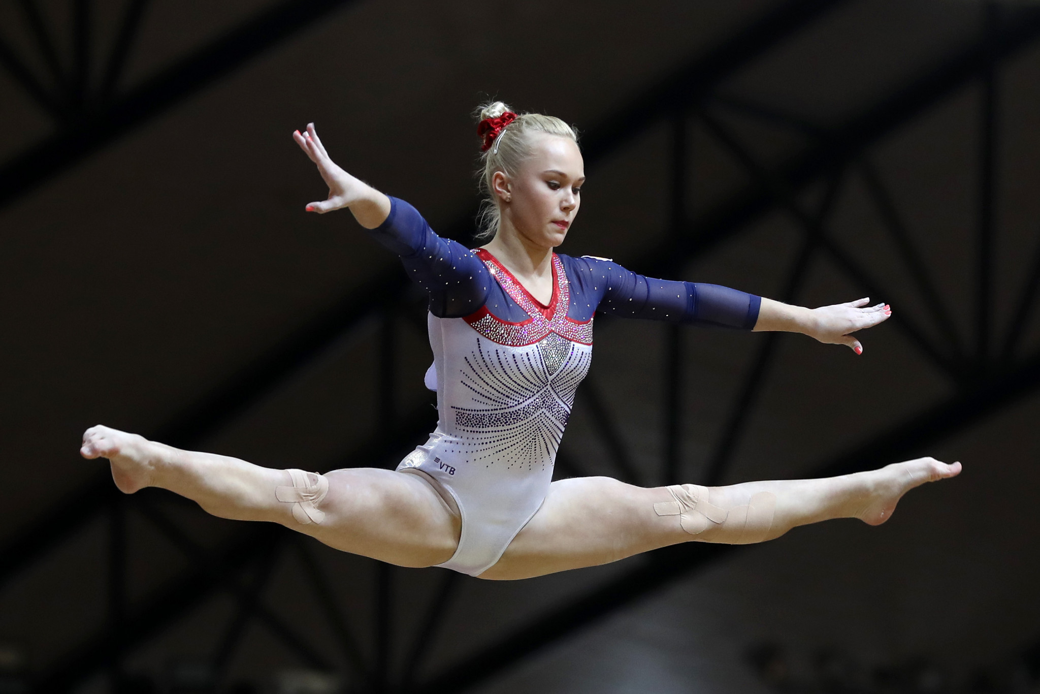 Russia's Melnikova heads list of women's all-around qualifiers at European Artistic Gymnastics Individual Championships