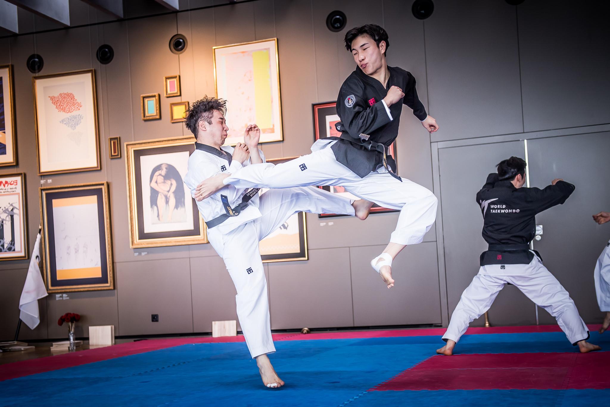 The team from World Taekwondo took to the floor next ©World Taekwondo
