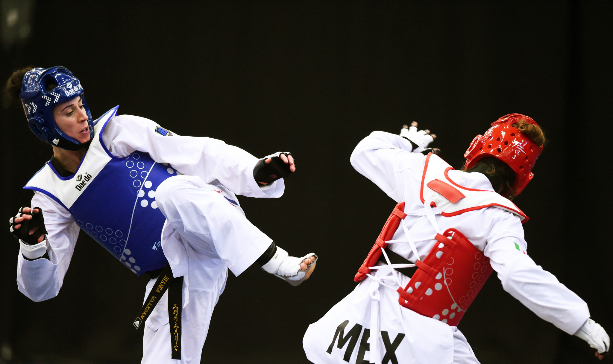 Bianca Walkden is among the leading fighters named on Great Britain's 15-strong team to compete at the World Taekwondo Championships in Manchester next month ©Getty Images
