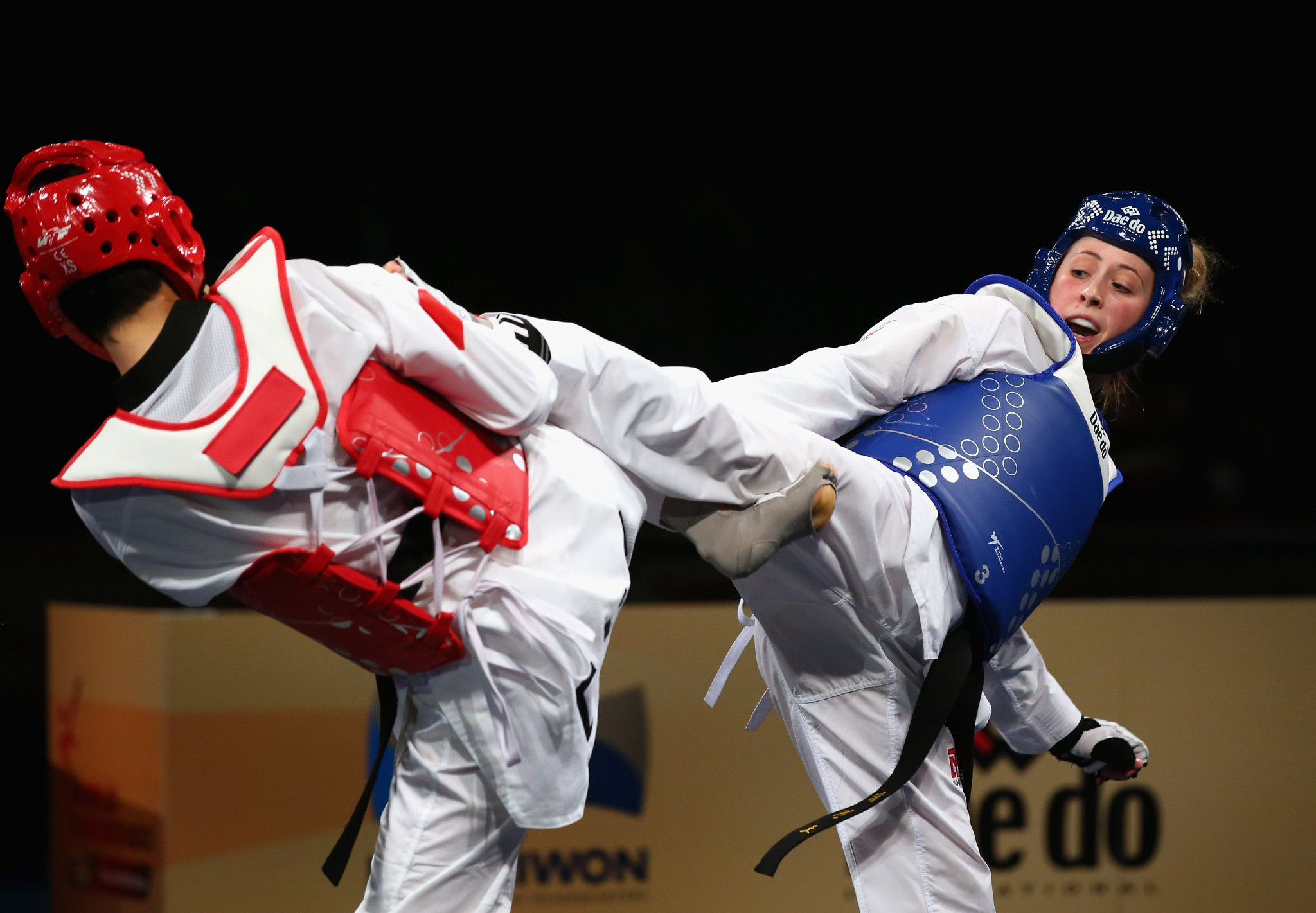 Double Olympic champion Jade Jones will be looking to secure a first world title next month ©Getty Images