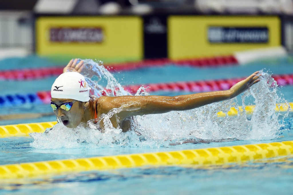 Japanese swimmer sets FINA World Cup alight with world junior record in Tokyo