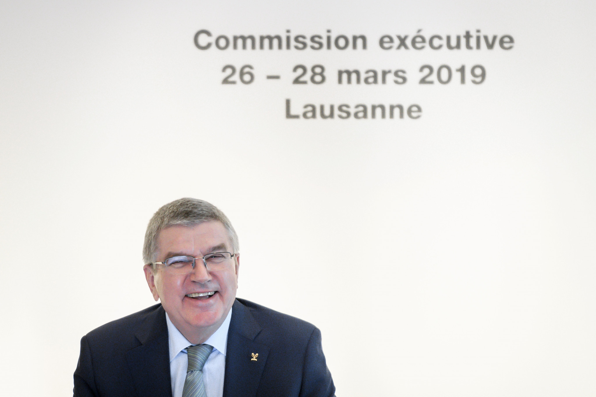 IOC President Thomas Bach is set to take part in a question-and-answer session on Sunday ©Getty Images