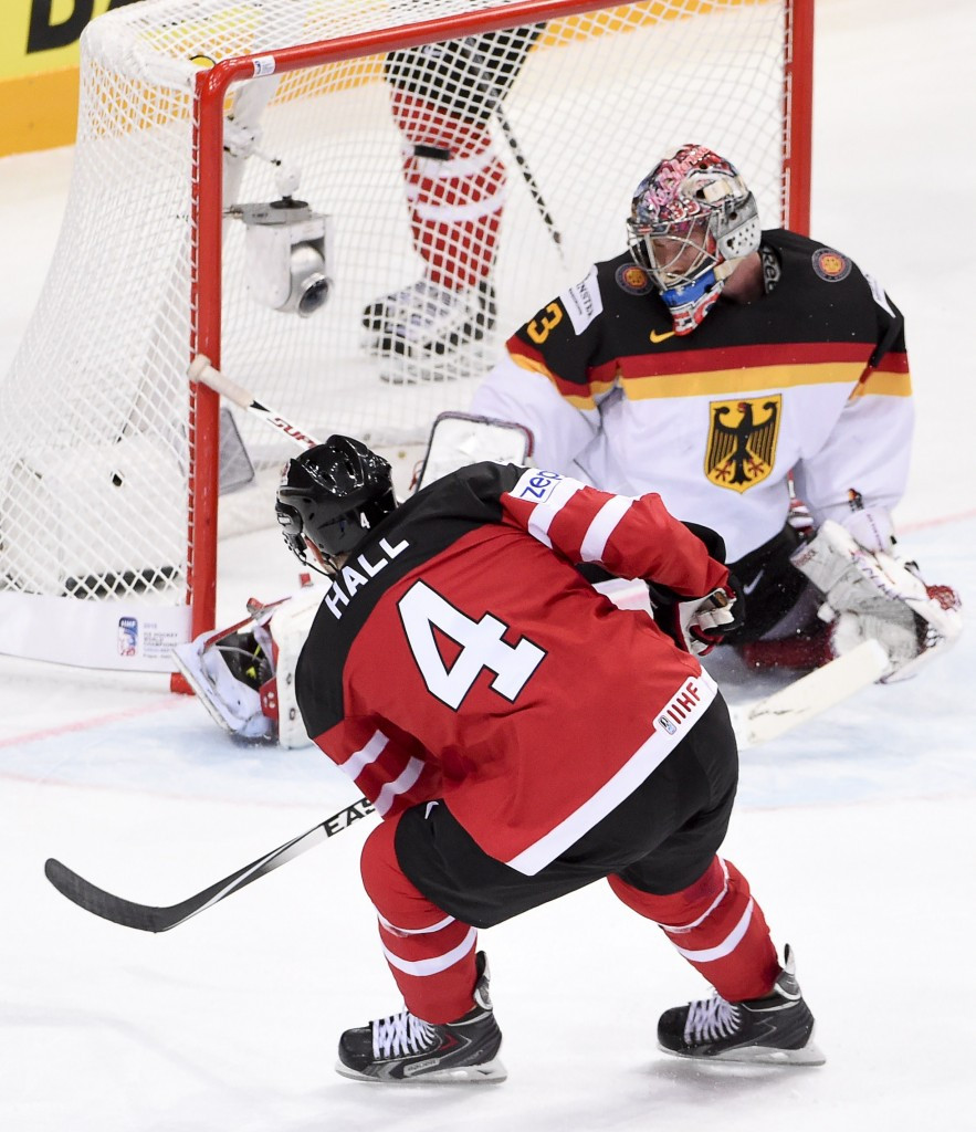 Canada moved to the top of Group A with an emphatic win against Germany ©Getty Images