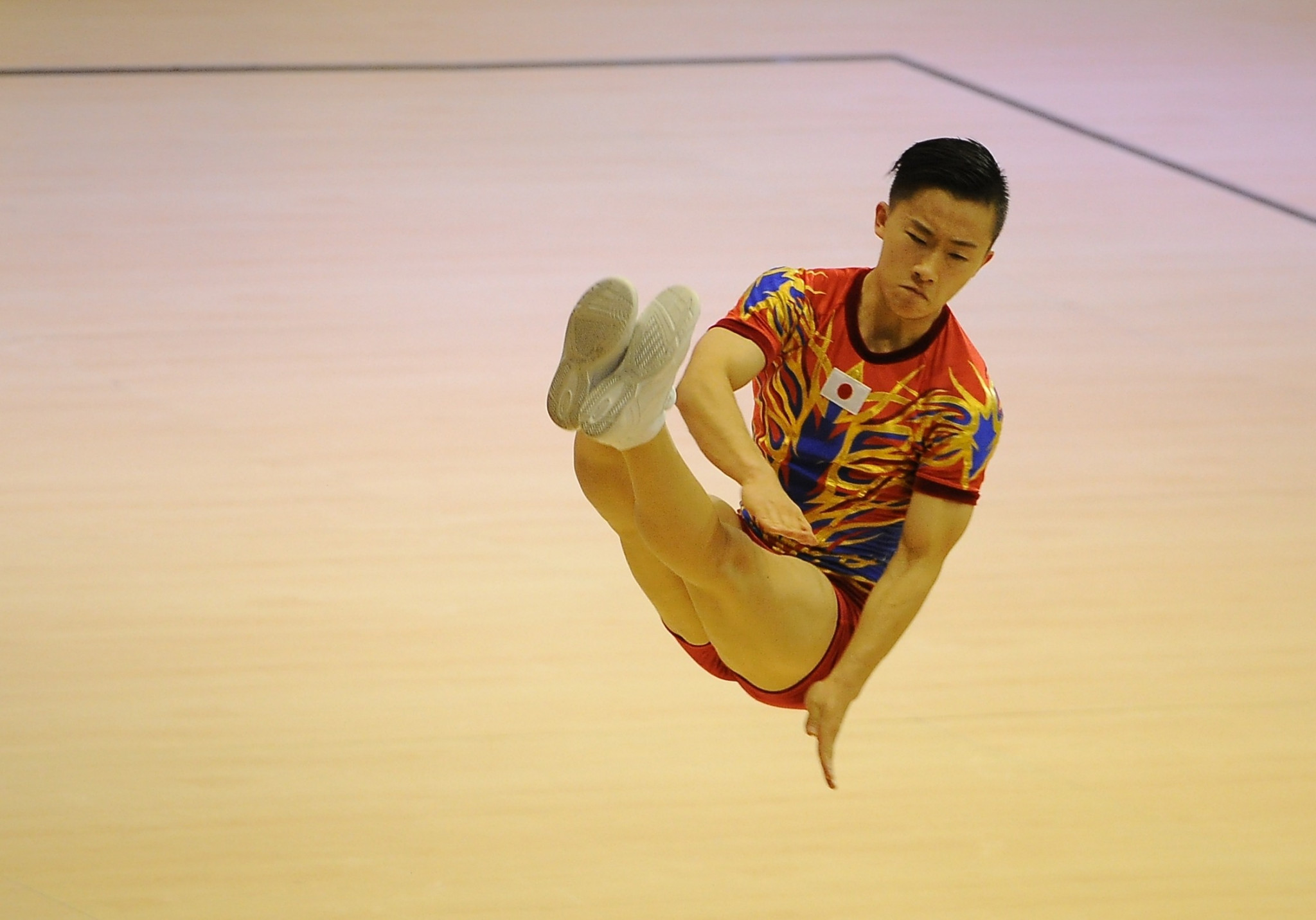 Double world champion Saito looks to delight home crowd at FIG Aerobic World Cup