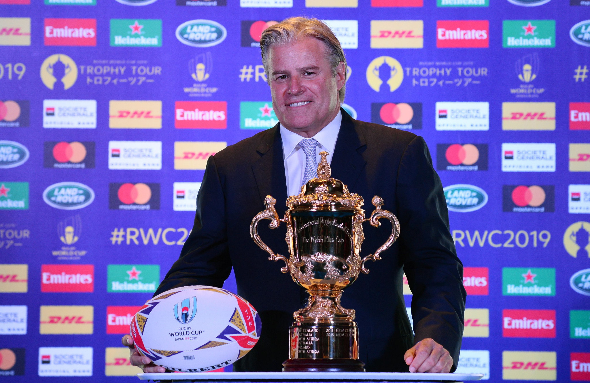 World Rugby chief executive Brett Gosper says the federation is confident of a