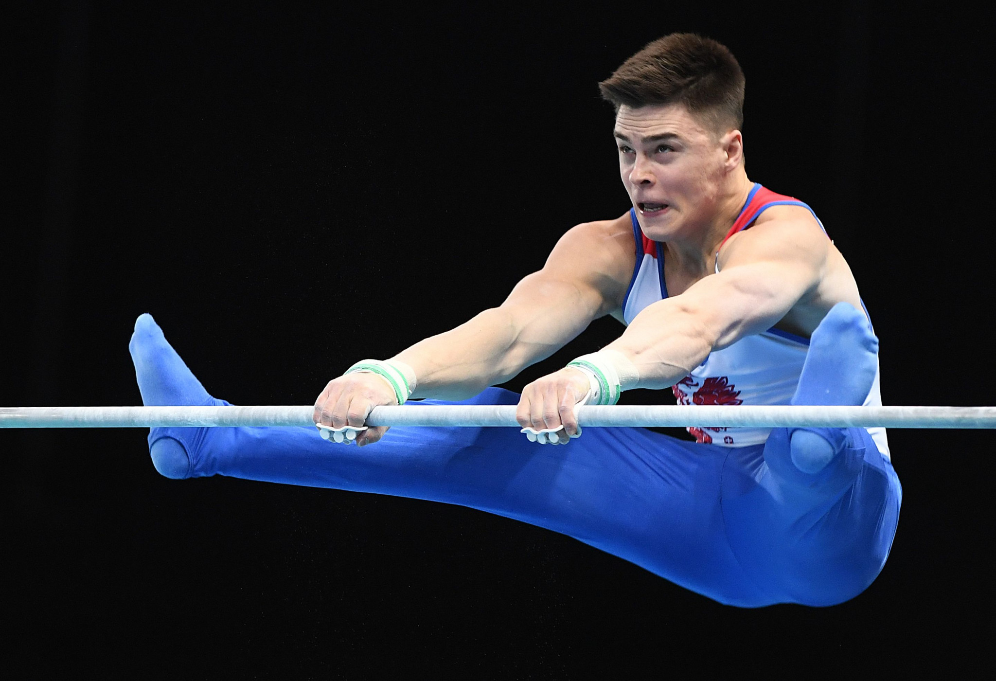 Russia's Nikita Nagornyy won his first all-around title at the European Artistic Gymnastics Individual Championships ©Getty Images