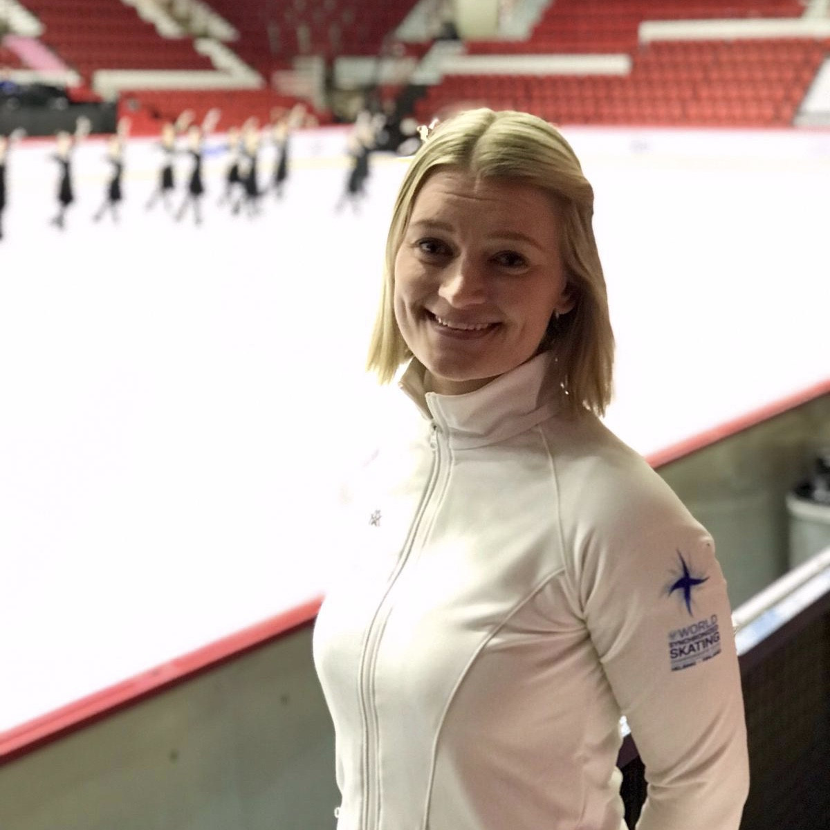 Finland's former world champion Ida Hellström was voted on to the ISU Athletes Commission today as the representative of synchronized skating ©ISU