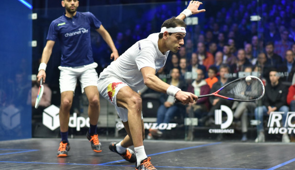 Mohamed beats Marwan in battle of ElShorbagy brothers to reach DPD Open semi-finals in Eindhoven