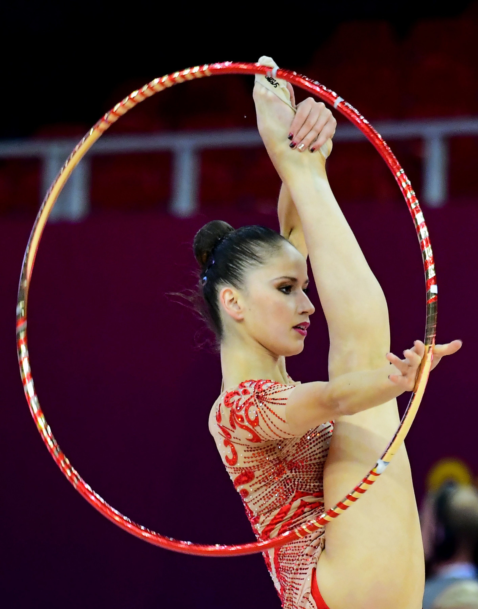 Home hope Vladinova well placed but Russians rule after day one of FIG Rhythmic Gymnastics World Cup in Sofia