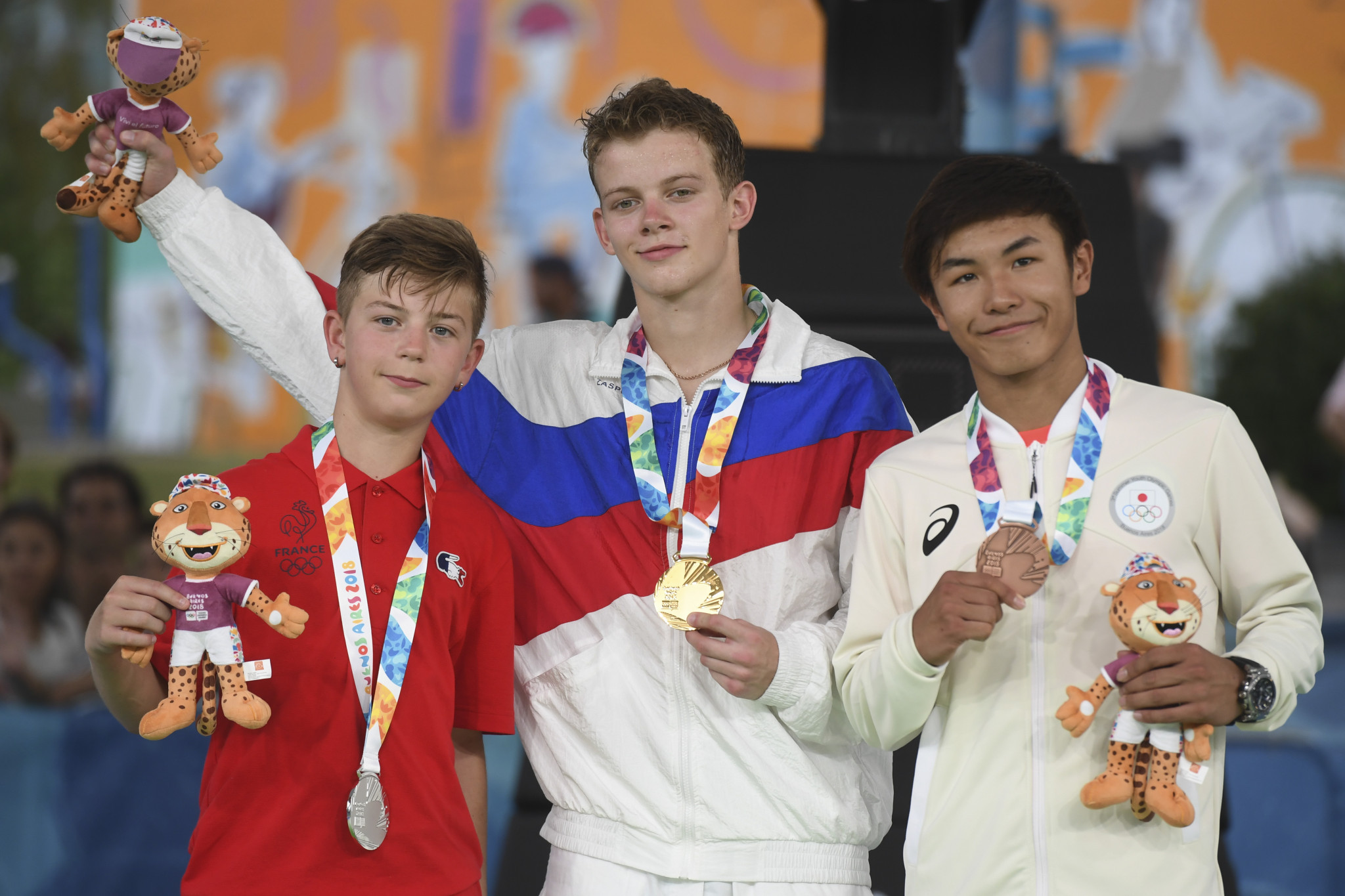 Russia won a gold medal when the sport featured at last year's Youth Olympic Games ©Getty Images