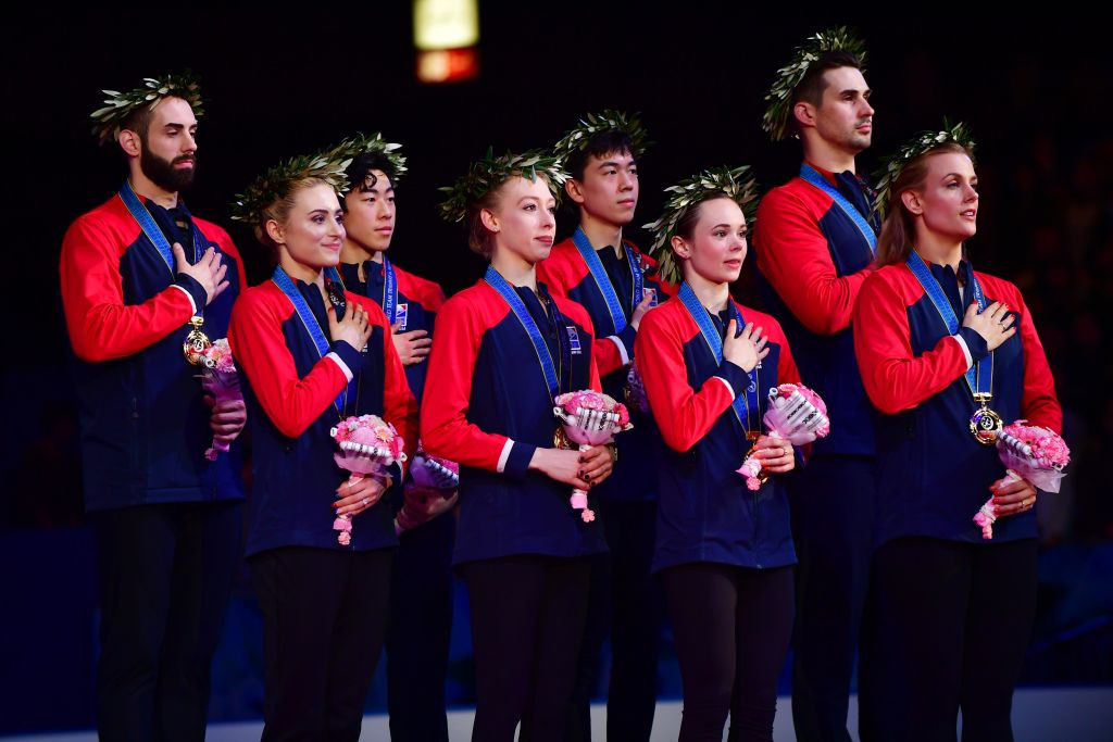 Team USA claim fourth ISU World Team Trophy
