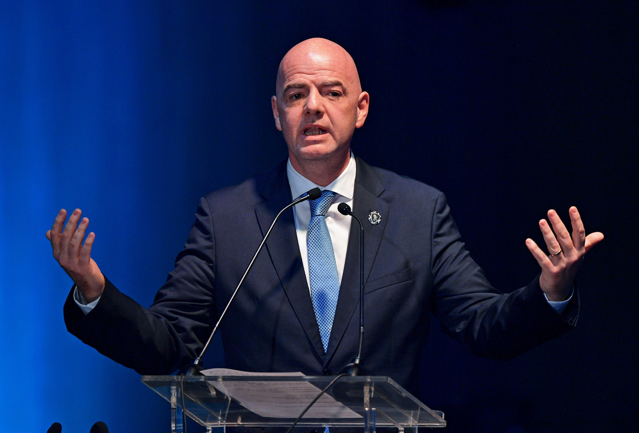 FIFA President Infantino vows to continue fight against racism after Amiens captain Gouano receives reported abuse