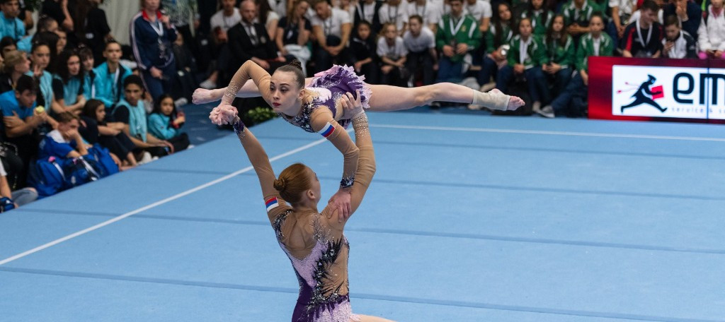 Teams maintain leads in qualifying round of FIG Acrobatic World Cup